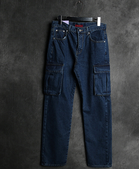 P-8359POKET DENIM PANTS포켓 데님 팬츠Color : 1 colorMaterial : denim