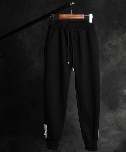 P-9842Zip pockets on both ankles pants