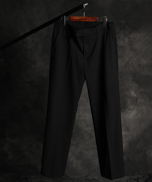 P-9850poket wide pants