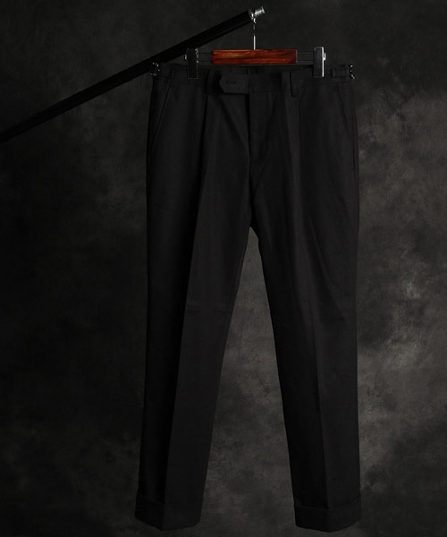 P-9849cotton cabra pants
