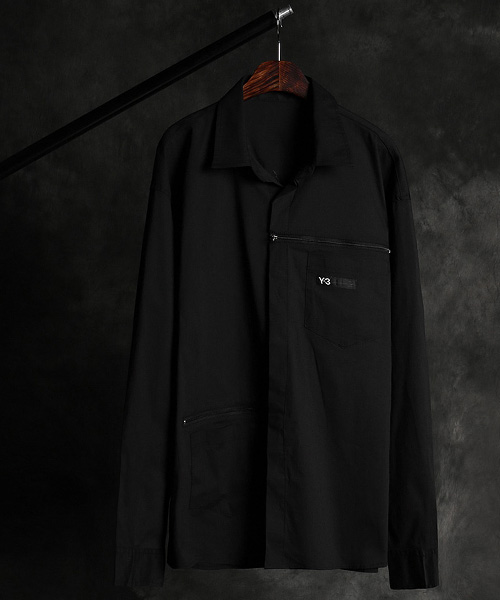 S-2888Y-3 poket zipper shirt